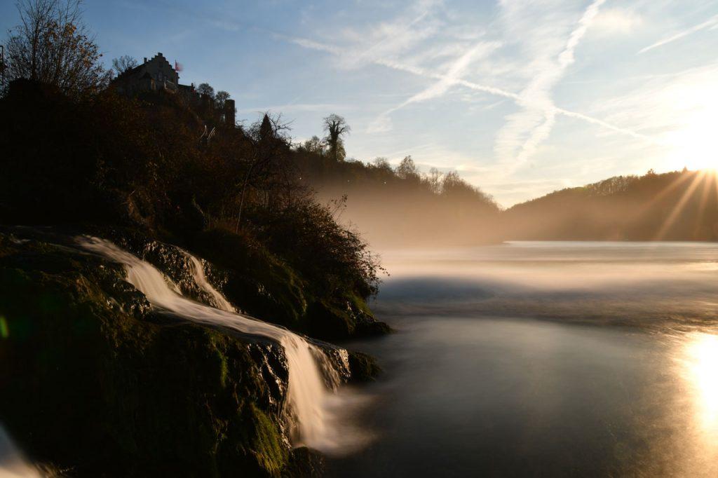 rhine fall switzerland - must go place in switzerland