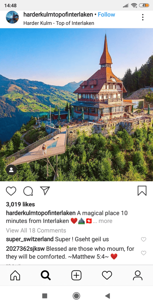 Interlaken - switzerland interlaken