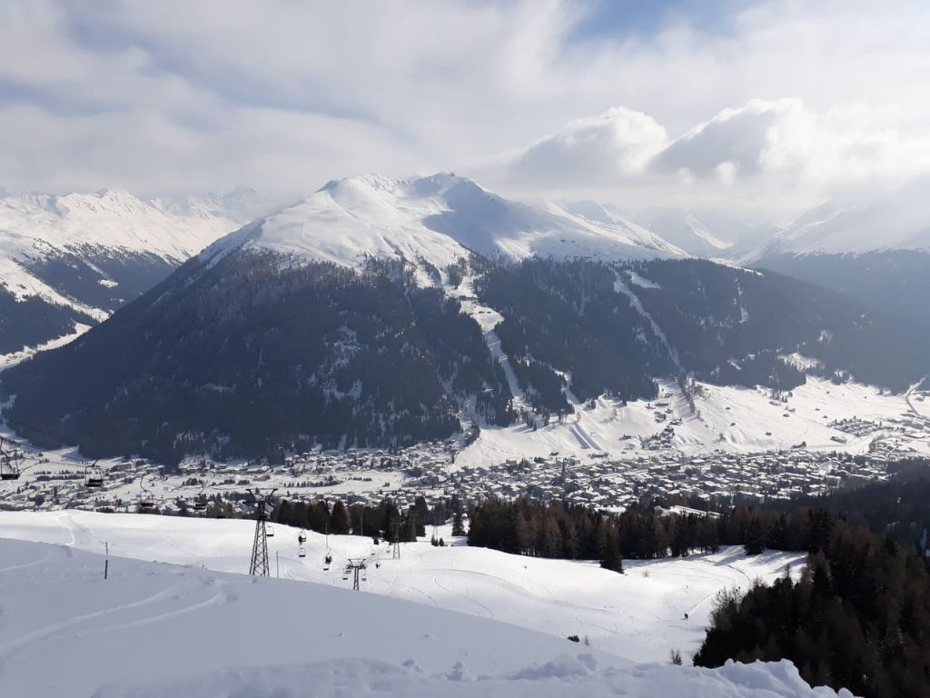 davos ski