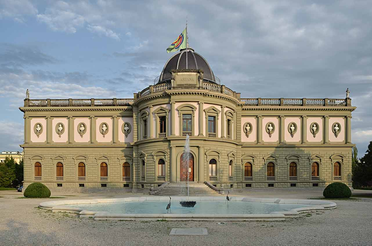 musee ariana in Geneve - place to visit in geneva