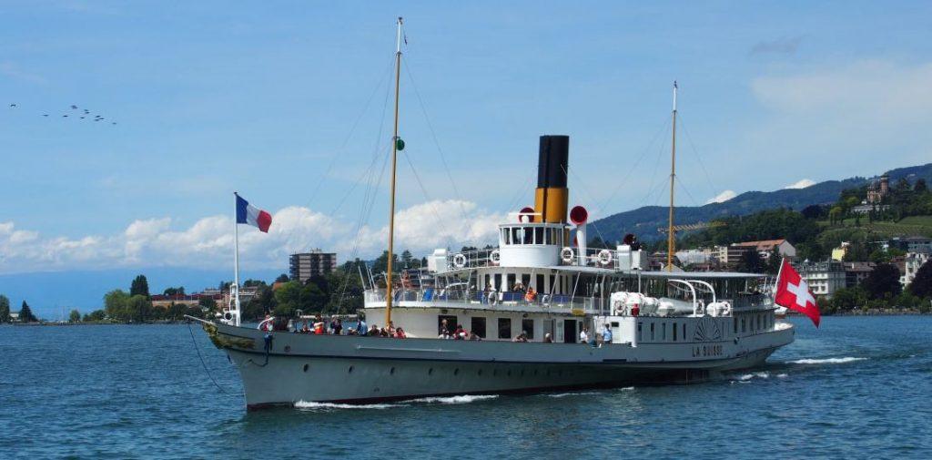 la suisse steam paddle boat - top geneva restaurant