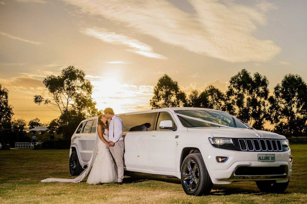 limousine service for a wedding