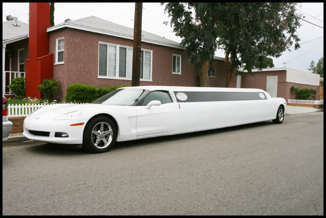Corvette Stretch Limo