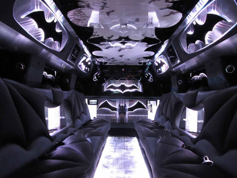 Batman Black Hummer Limo