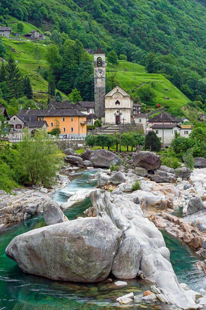 lavertezzo instagrammable place in switzerland