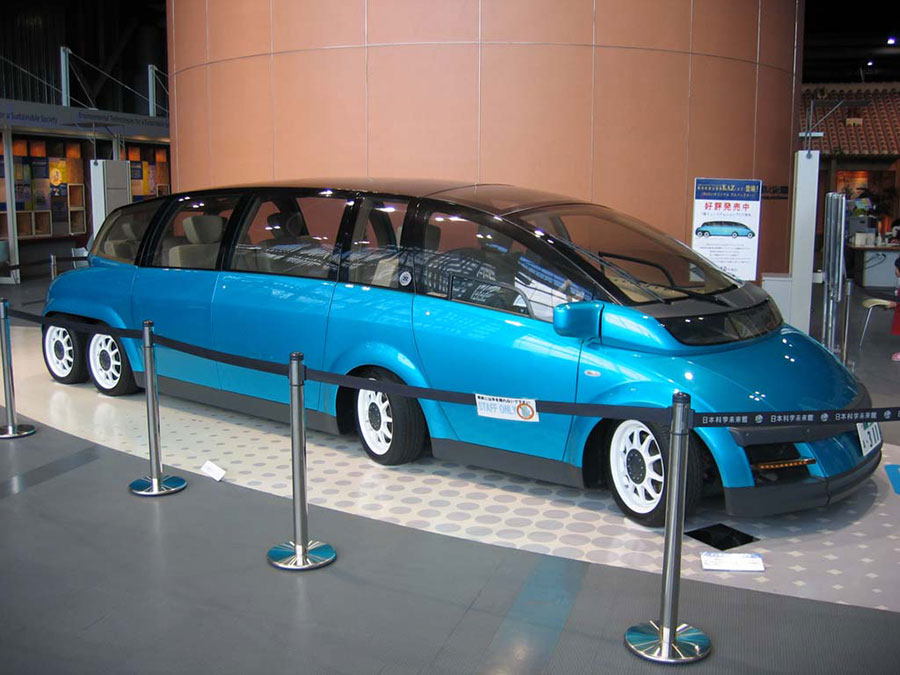 kaz - electric limo