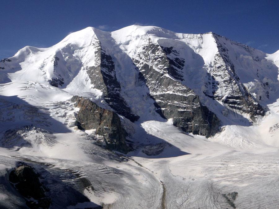 diavolezza ski track near st moritz - diavolezza st moritz