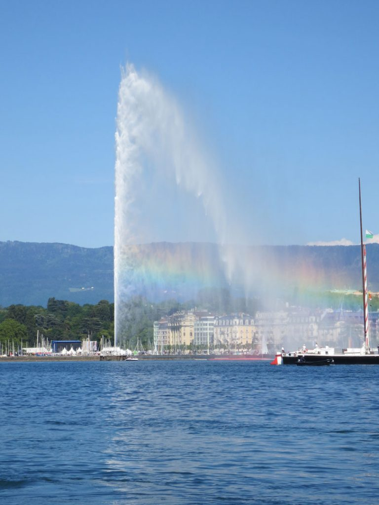 jet d`eau switzerland - geneva place to visit