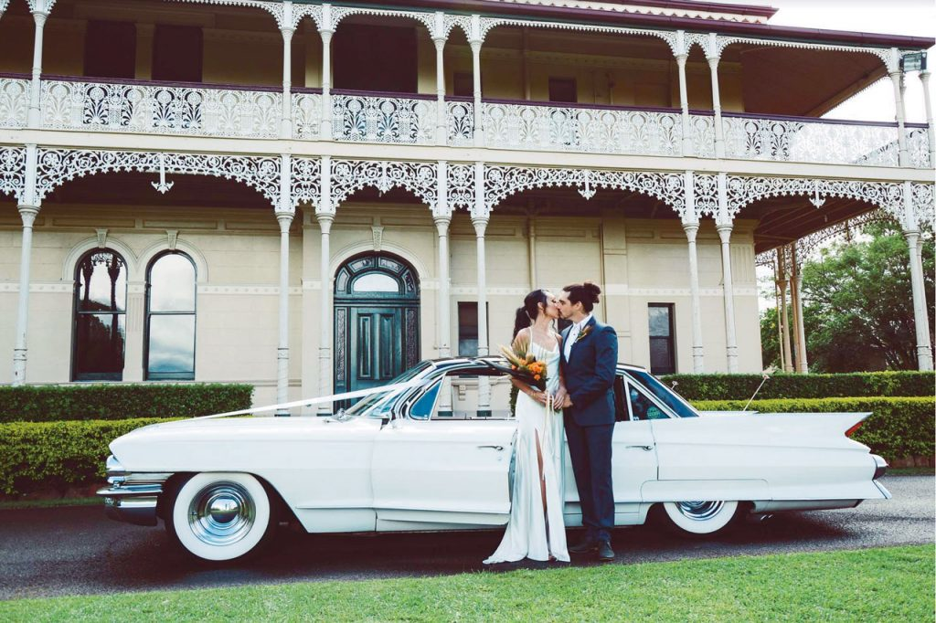 vintage wedding car - vintage car