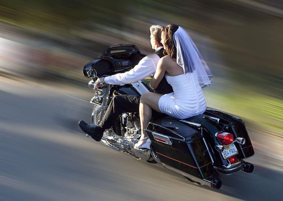 wedding - bike wedding - biker wedding