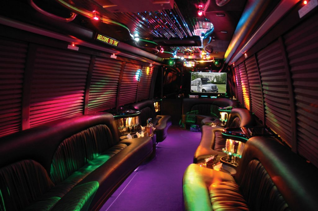 party bus - wedding bus