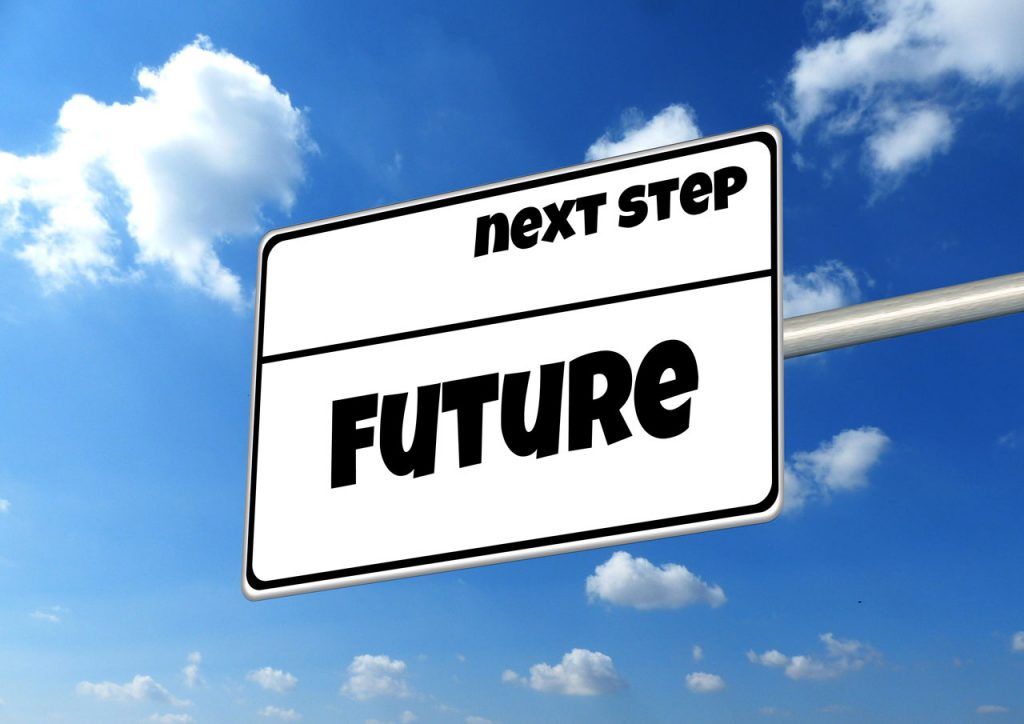 future limousines next step - next step future - future sign