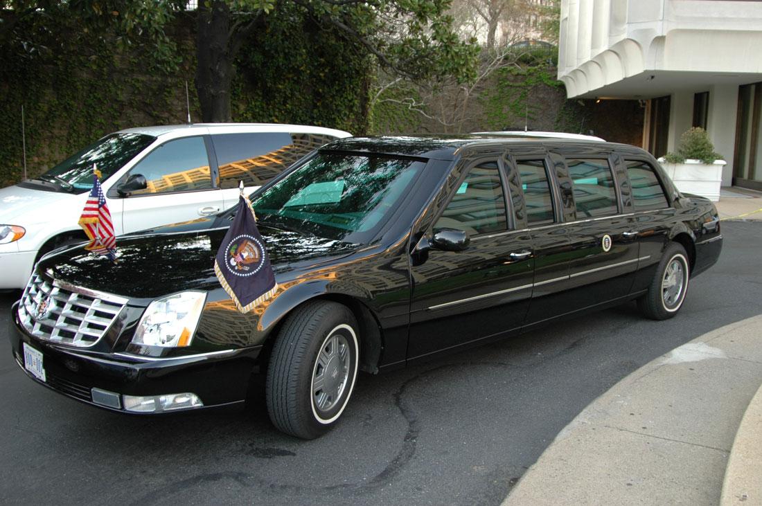2009 presidential cadillac limo