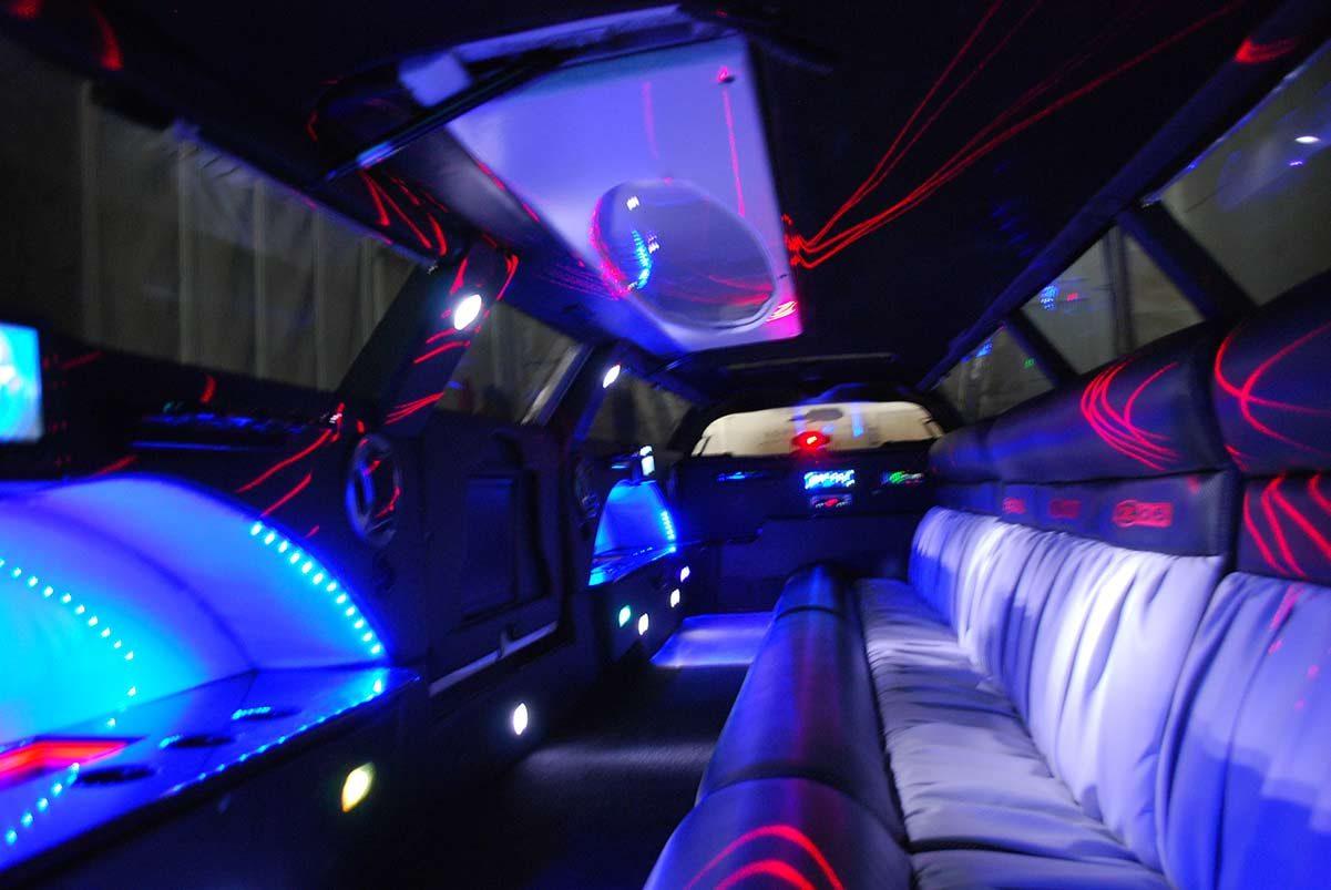 corvette limo interior