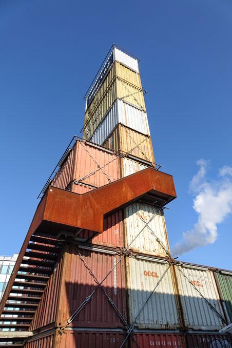 freitag tower in zurich - freitag tower swiss