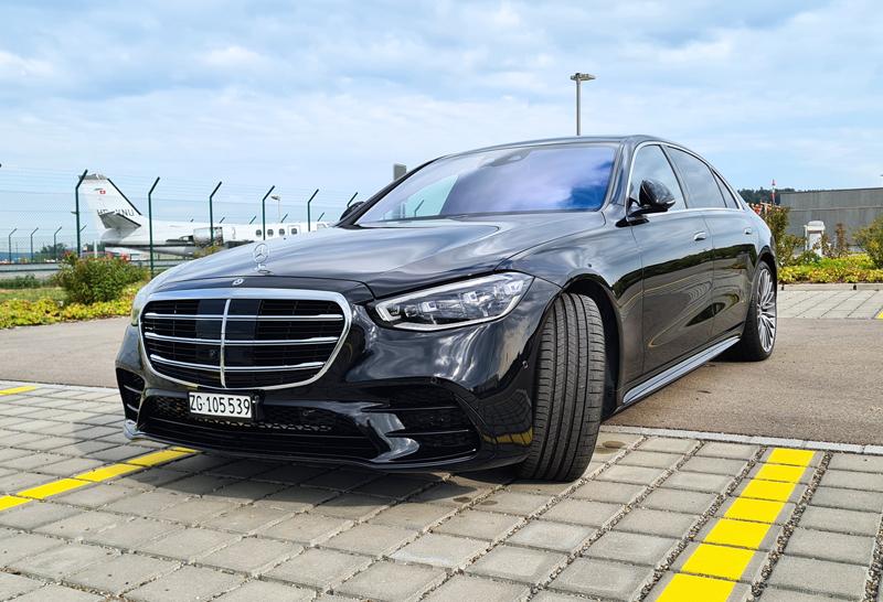 mercedes s500 limousine - luxury mercedes limousine