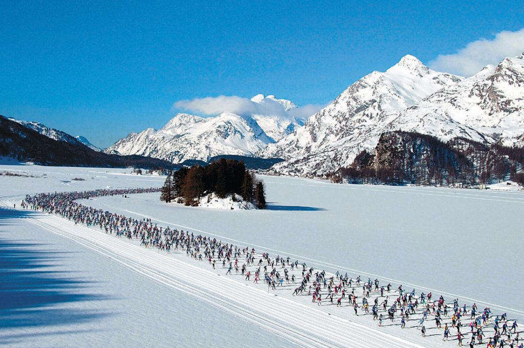 st moritz skiing - st moritz at winter - st moritz engadine